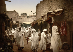 Art Prints of A Street, Sidi Okba, Algeria (387130)