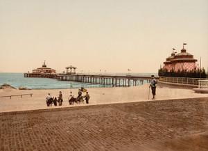 Art Prints of The Pier, Blankenberghe, Belgium (387146)