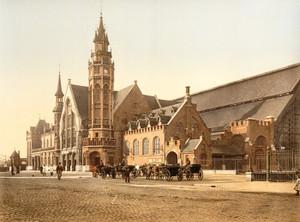Art Prints of The Station, Bruges, Belgium (387163)