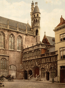 Art Prints of The Chapel, Bruges, Belgium (387165)