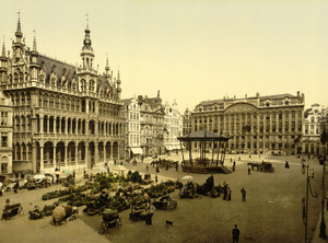 Art Prints of La Grande Place, Brussels, Belgium (387173)