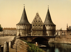 Art Prints of The Rabot Gate, Ghent, Belgium (387200)
