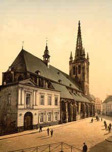 Art Prints of St. Gertrude Church, Louvain, Belgium (387210)