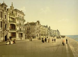 Art Prints of The Embankment, Ostend, Belgium (387225)