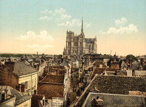 Art Prints of From the Belfrey, Amiens, France (386965)