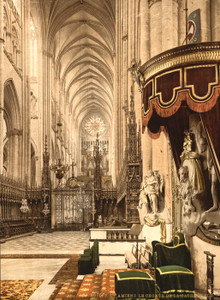 Art Prints of The Cathedral Choir, Amiens, France (386966)