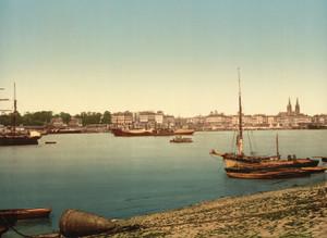Art Prints of The Harbor, Bordeaux, France (387001)