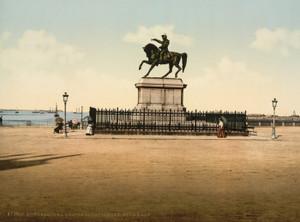 Art Prints of Statue of Napoleon I, Cherbourg, France (387047)