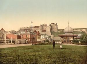Art Prints of Old Castle, Dieppe, France (387059)