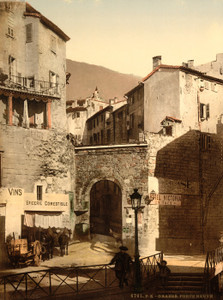 Art Prints of New Gate, Grasse, France (387296)