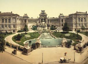 Art Prints of Palace Longchamps, Marseilles, France (387352)