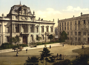 Art Prints of Prefecture and Post Office, Montpelier, France (387374)