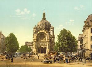 Art Prints of St. Augustine Church, Paris, France (387437)