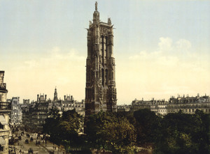 Art Prints of St. James Tower, Paris, France (387439)