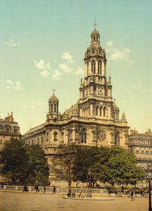 Art Prints of Trinity Church, Paris, France (387440)