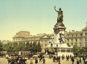 Art Prints of Place de la Republique, Paris, France (387447)