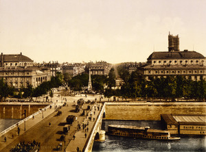 Art Prints of Place du Chatelet, Paris, France (387444)