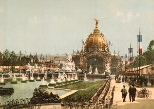 Art Prints of Exposition Universelle, 1900, Paris, France (387483)