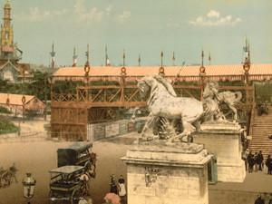 Art Prints of Exposition Universelle, 1900, Paris, France (387482)