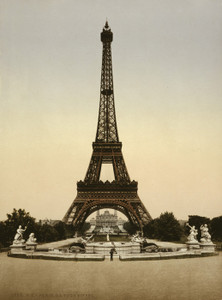 Art Prints of Eiffel Tower, Full View, Paris, France (387487)