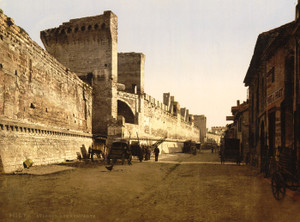 Art Prints of The Ramparts, Avignon, Provence, France (387495)