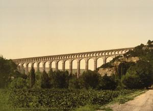 Art Prints of Roquefavour Aqueduct, Marseilles Canal, Provence, France (387506)