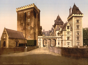 Art Prints of The Castle of Henry IV, Pau, Pyrenees, France (387571)