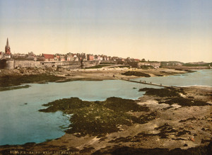 Art Prints of The Ramparts from Grand Bey, St. Malo, France (387608)