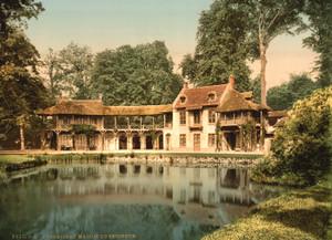 Art Prints of Petit Trianon Park, Maison du Seigneur, Versailles, France (387643)