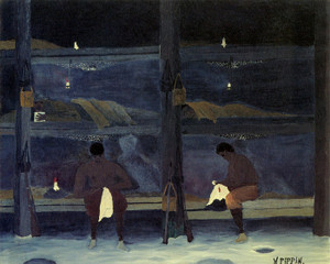 Art Prints of Barracks by Horace Pippin