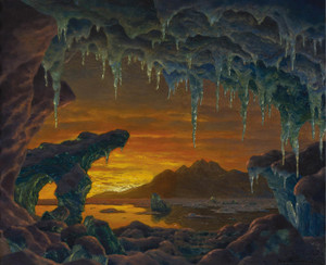 Art Prints of Arctic Grotto by Ivan Fedorovich Choultse