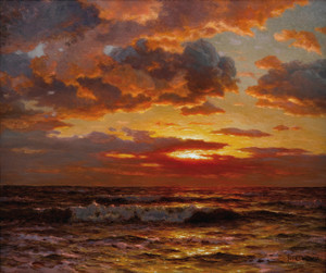 Art Prints of Sunset by Ivan Fedorovich Choultse