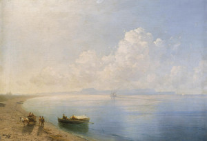 Art Prints of Calm Waters by Ivan Konstantinovich Aivazovsky