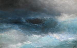 Art Prints of Stormy Sea by Ivan Konstantinovich Aivazovsky
