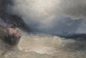 Art Prints of The Survivor by Ivan Konstantinovich Aivazovsky