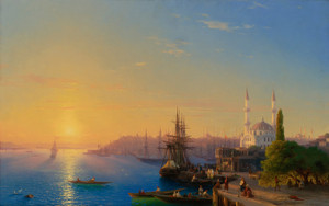 Art Prints of Constantinople and the Bosphorus by Ivan Konstantinovich Aivazovsky