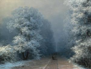 Art Prints of Winter Landscape II by Ivan Konstantinovich Aivazovsky