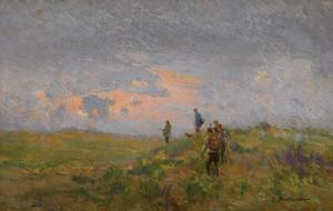 Art Prints of The Hunt by Ivan Pavlovich Pokhitonov