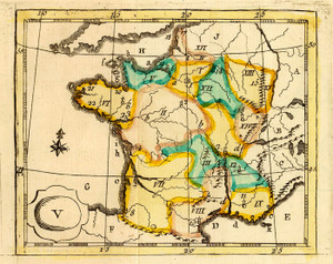 Art Prints of La France, 1784 (4122005) by J.H. Schneider and Jean Marie Bruyset