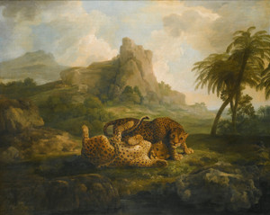 Art Prints of Leopards at Play by Jacques-Laurent Agasse