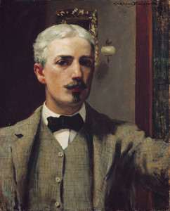 Art Prints of Self Portrait 1898 by James Carroll Beckwith