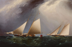 Art Prints of Cornelia and Magic Rounding Buoy by James Edward Buttersworth