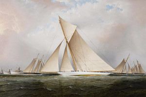 Art Prints of The America's Cup Yacht Race by James Edward Buttersworth