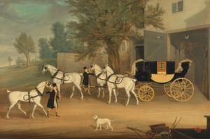 Art Prints of John Smith Barry's Drag and Grey Team by James Pollard