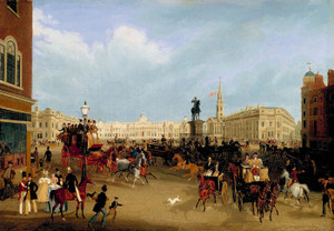 Art Prints of Trafalgar Square by James Pollard