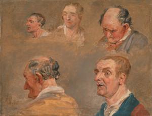 Jacky Turner and the Reverend Charles Hopes Gardener by James Ward | Fine Art Print