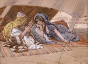 Art Prints of Abrams Counsel to Sarai by James-Jacques-Joseph Tissot