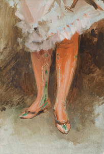 Art Prints of Red Stockings by James-Jacques-Joseph Tissot