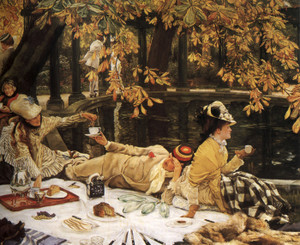 Art Prints of Holyday by James-Jacques-Joseph Tissot