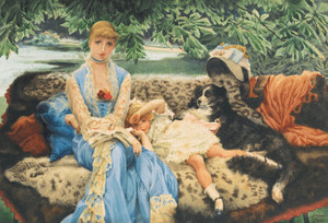 Art Prints of Quiet by James-Jacques-Joseph Tissot